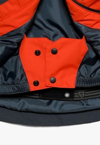 Brunotti - IDAHO BOYS SNOWJACKET - Kurtka snowboardowa - red/dark blue - 5