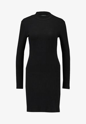 BASIC - Jersey dress - black