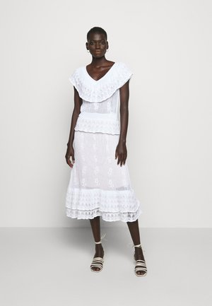 DRESS - Jumper dress - bianco ottico