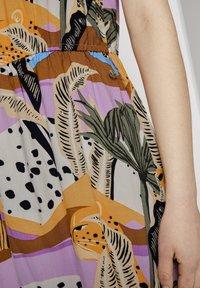TOM TAILOR DENIM - Maxi dress - tropical print - 4