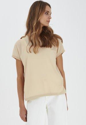 BYPANYA - Print T-shirt - beige