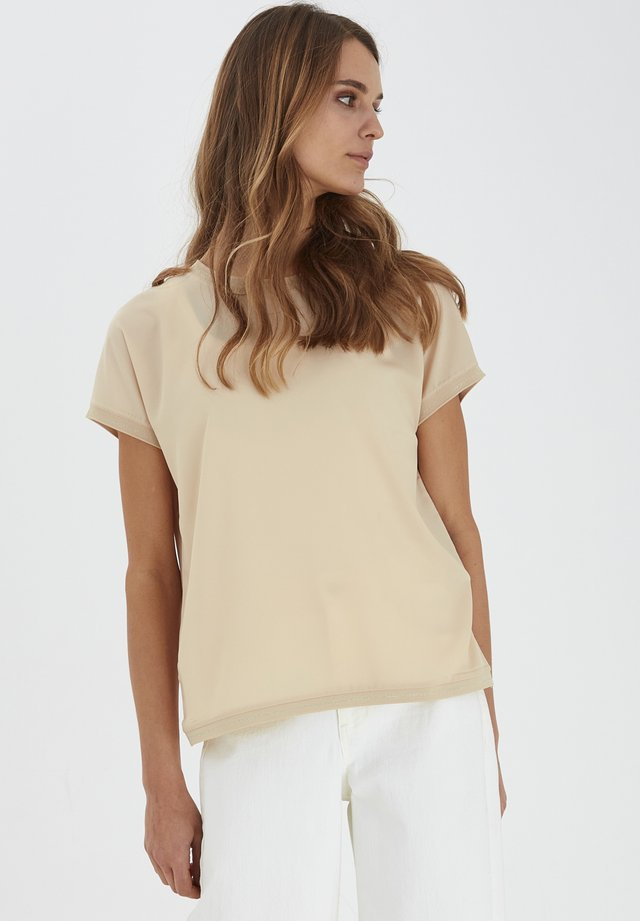 BYPANYA - T-shirt con stampa - beige
