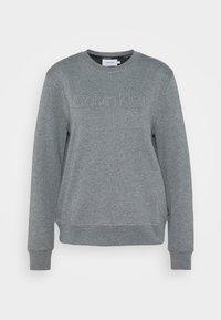 Calvin Klein - LOGO STUD - Sweatshirt - mid grey heather - 0