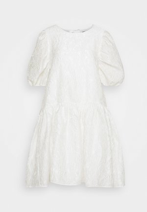 SLFWINA SLEEEVE SHORT DRESS  - Cocktail dress / Party dress - white