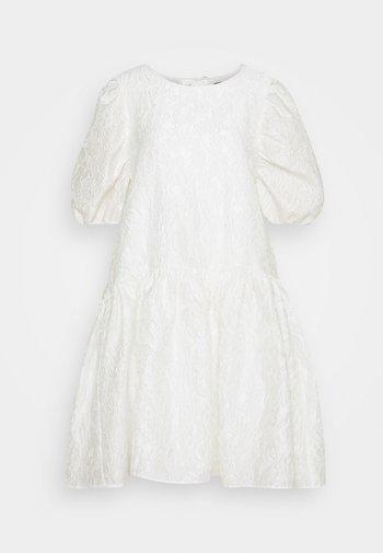 SLFWINA SLEEEVE SHORT DRESS  - Cocktailklänning - white