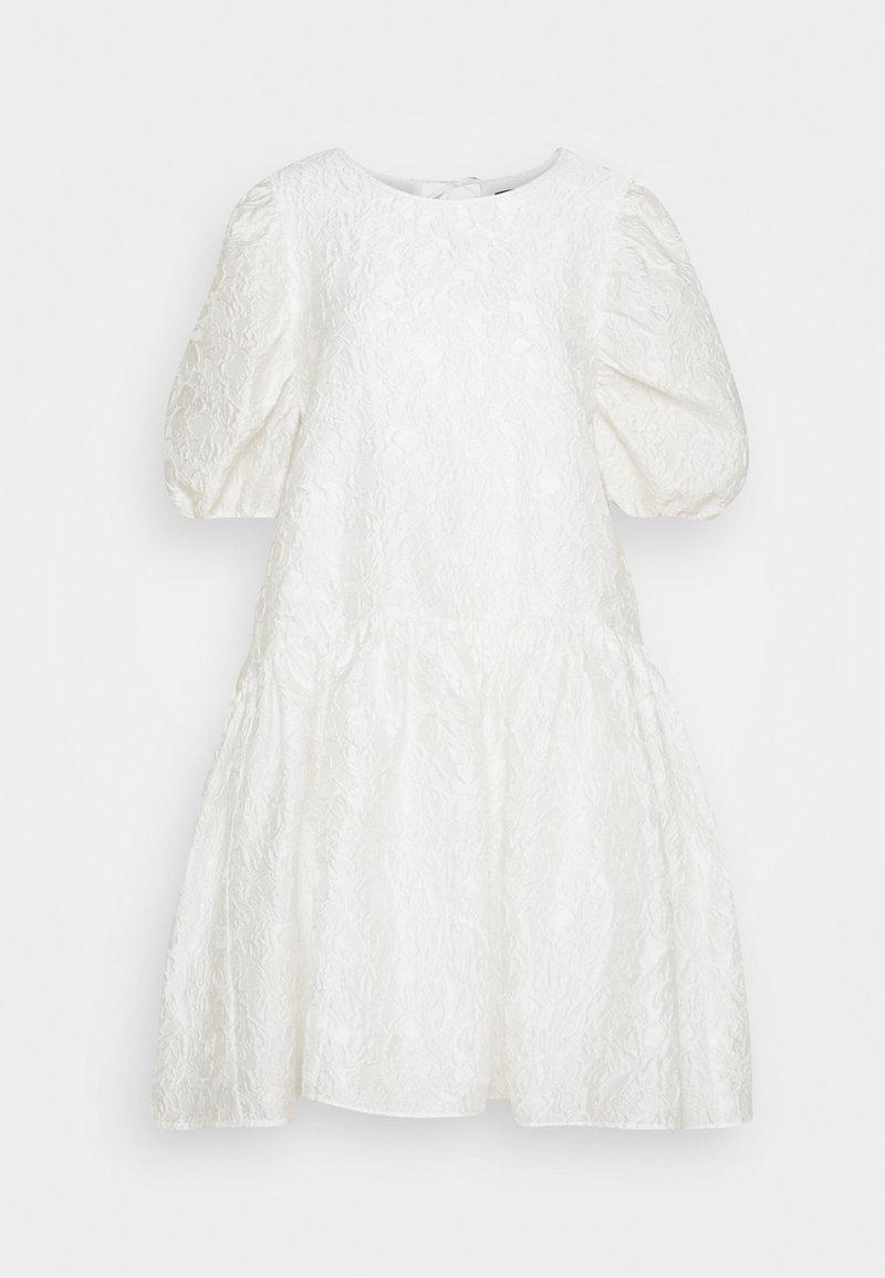Selected Femme - SLFWINA SLEEEVE SHORT DRESS  - Cocktail dress / Party dress - white