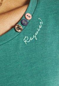 Ragwear - FLORAH LONG - Long sleeved top - dusty green - 4