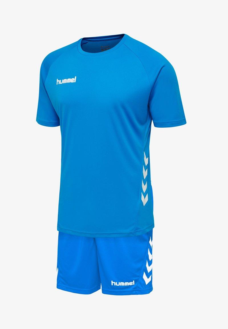 Hummel - Sports shorts - diva blue