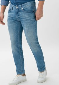 BRAX - STYLE CHRIS - Slim fit jeans - glory blue used - 0