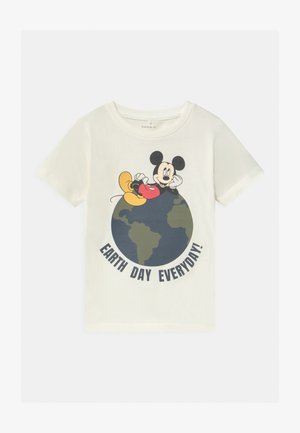 DISNEY MICKEY MOUSE NIKS - Print T-shirt - snow white