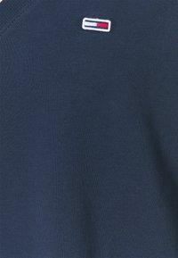 Tommy Jeans Curve - TJW V-NECK SWEAT DRESS - Day dress - twilight navy - 4