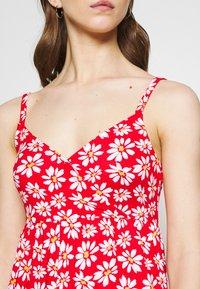 Hollister Co. - BARE DRESS - Robe en jersey - red daisy - 5