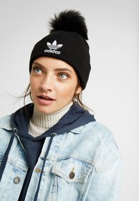 adidas Originals - POM BEANI - Berretto - black - 1