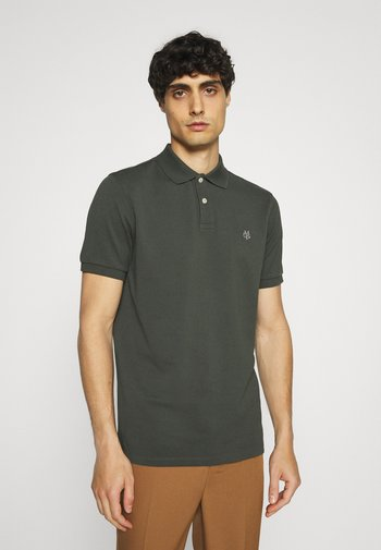 SHORT SLEEVE BUTTON - Polo shirt - mangrove