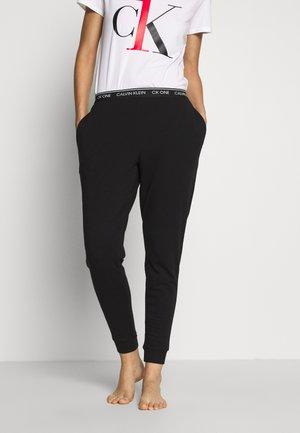 ONE LOUNGE - Pyjamasbukse - black