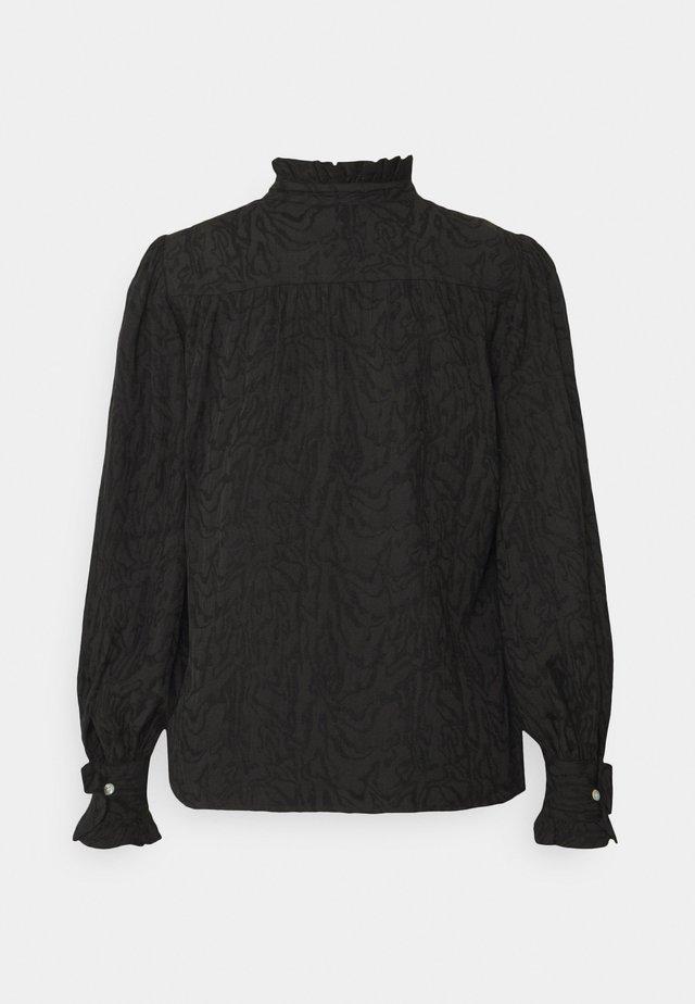 CASSINIA - Long sleeved top - black