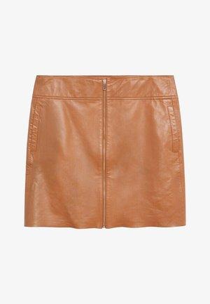A-line skirt - mittelbraun