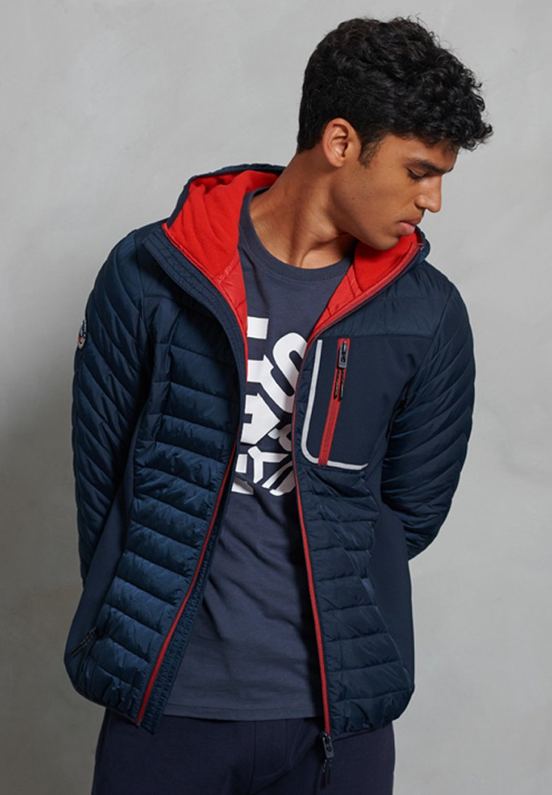 Superdry - Vinterjacka - deep navy