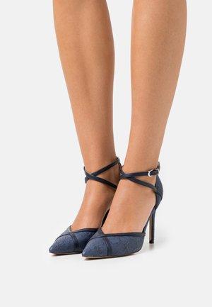 KATRINA - Classic heels - blue