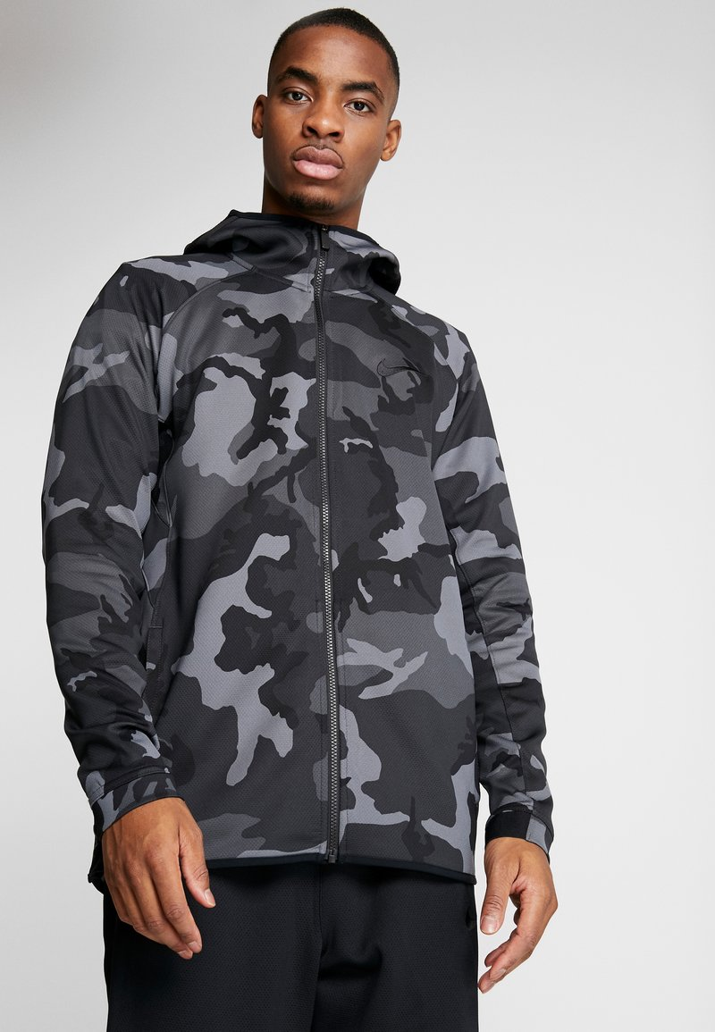 Nike Performance - SHOWTIME PRINT - Träningsjacka - dark grey/black