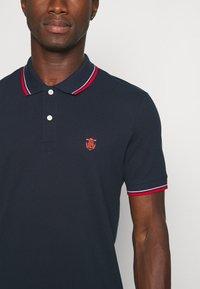 Selected Homme - SLHNEWSEASON 2 PACK - Polo shirt - navy blazer/port roayle - 5