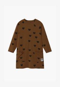 Mini Rodini - HEARTS - Jersey dress - brown - 2