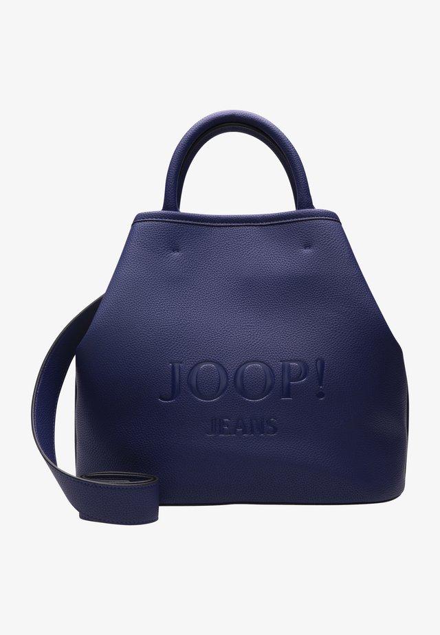 LETTERA NADINE - Shopping bag - blue