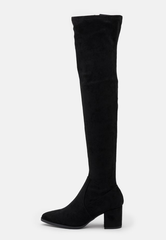 DANIELA - Over-the-knee boots - black