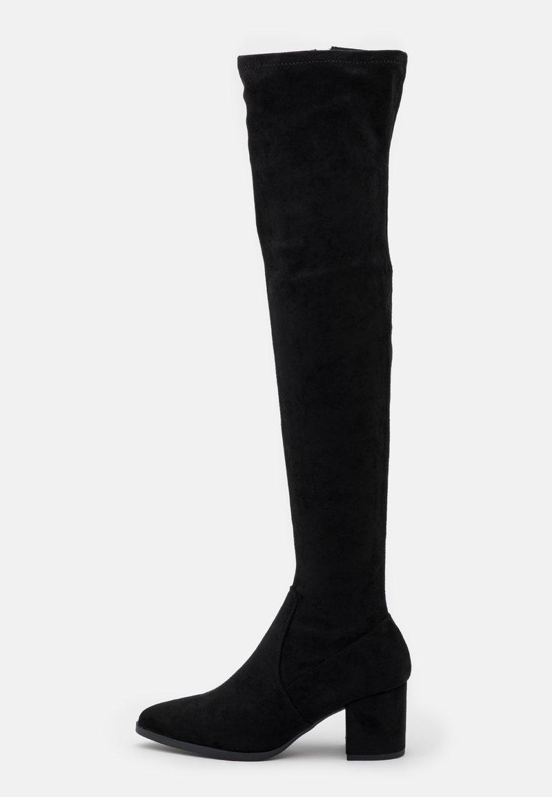 Madden Girl - DANIELA - Kozačky nad kolena - black