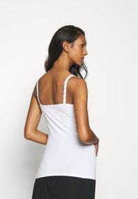 Marks & Spencer London - 2 PACK - Maglietta intima - white/black - 2