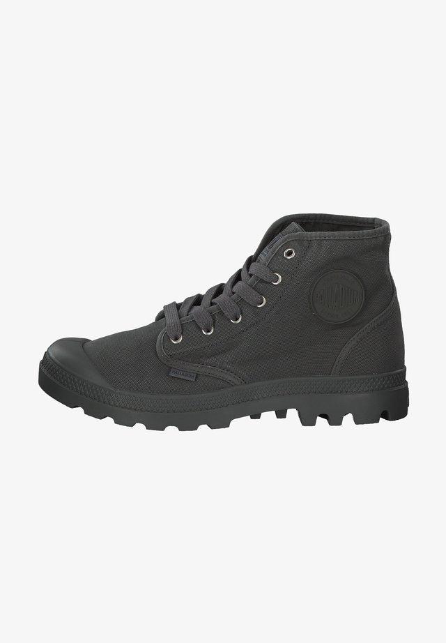 PALLADIUM - Lace-up ankle boots - metal/black