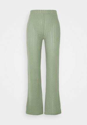 ONLVICKIE WIDE LEG PANT TALL - Trousers - sea spray