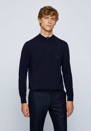 BARLO - Stickad tröja - dark blue