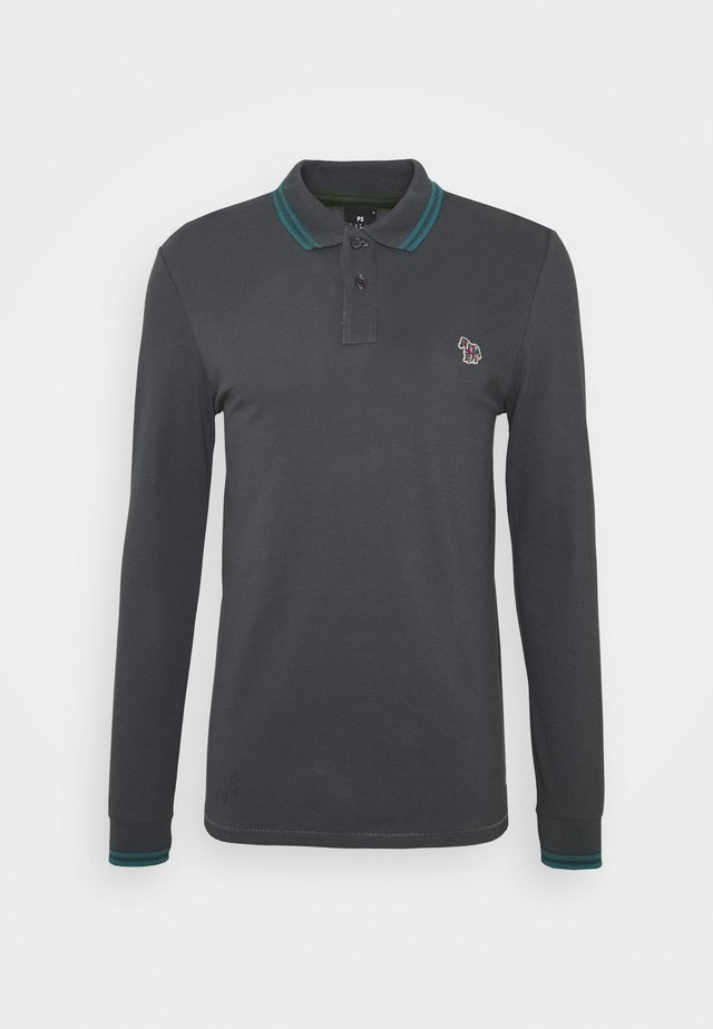 MENS SLIM FIT - Polo - dark grey
