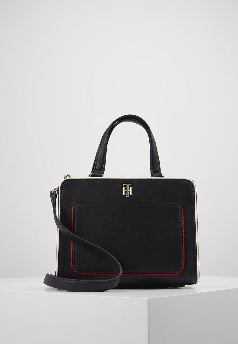 Tommy Hilfiger - CITY SATCHEL - Handbag - blue