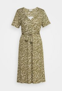 Freequent - Day dress - burnt olive mix - 4