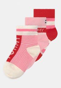 Tommy Hilfiger - GIFTBOX 3 PACK UNISEX - Socks - pink - 0