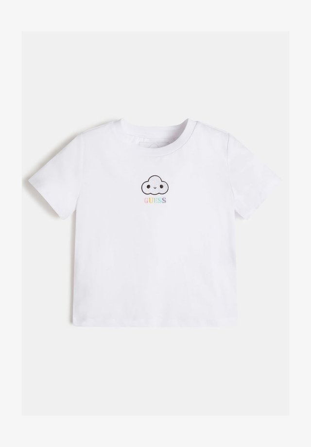 FRONTLOGO - T-shirt basic - weiß