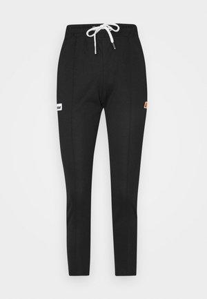 ADALINA - Teplákové kalhoty - black