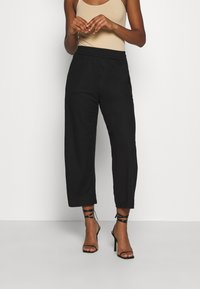 ONLY - ONLNAIRI CECILY WIDE PANT - Broek - black - 0