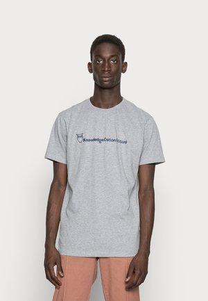 TEE - T-shirt con stampa - grey melange