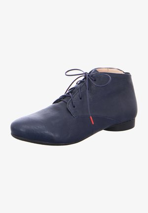 GUAD - Lace-up ankle boots - navy