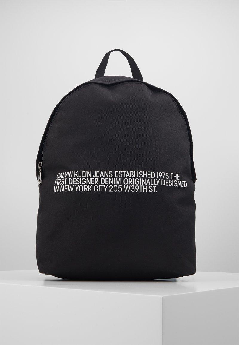 Calvin Klein Jeans - ROUND - Batoh - black