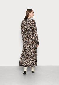 YAS - YASEMALLA LONG SHIRT DRESS  - Maxi dress - black emalla - 2