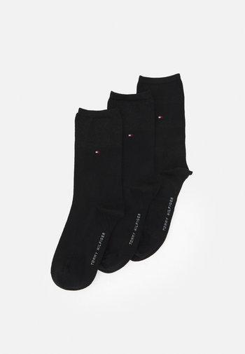 WOMEN SOCK SPARKLE GIFTBOX 3 PACK - Socks - black