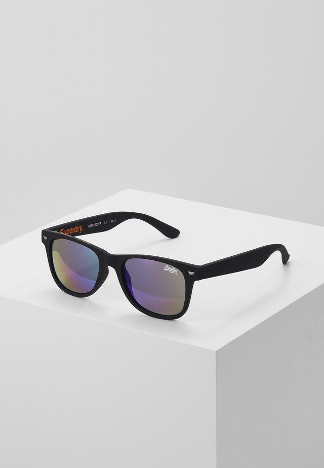 SUPERFARER - Zonnebril - rubberised black