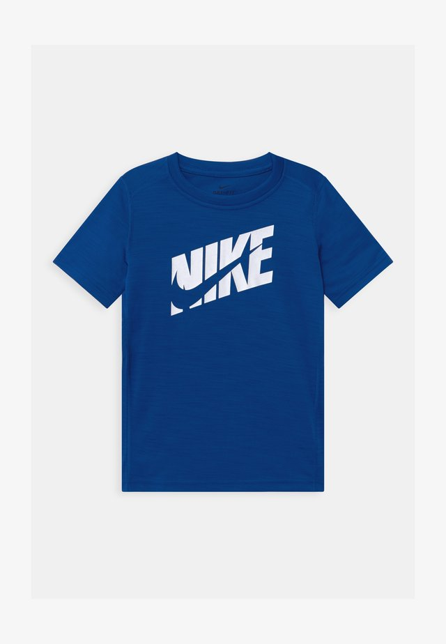 T-Shirt print - game royal/white