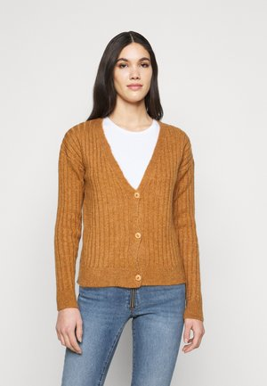 NMLUNA TALL - Cardigan - brown sugar
