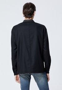 The Kooples - COL CUIR - Shirt - black - 2