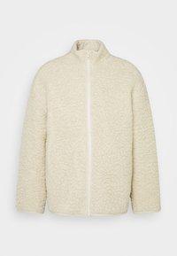 Weekday - CHEN PILE JACKET UNISEX - Winter jacket - beige - 5